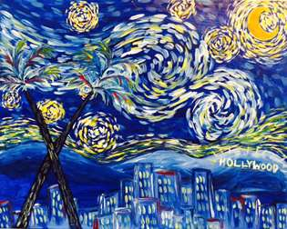 Starry Night over L.A.