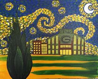 Starry Night over Lambeau