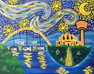 Starry Night Over San Antone