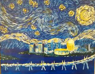 Starry Night Over San Diego