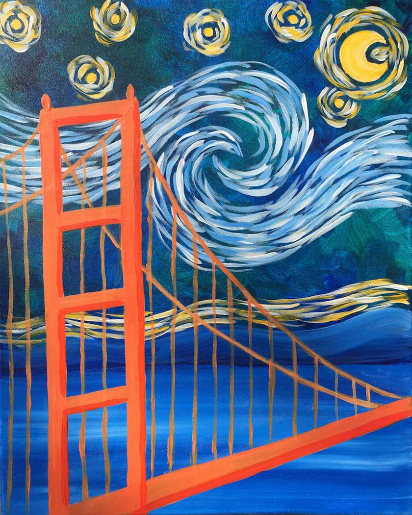 Starry Night Over the Gate