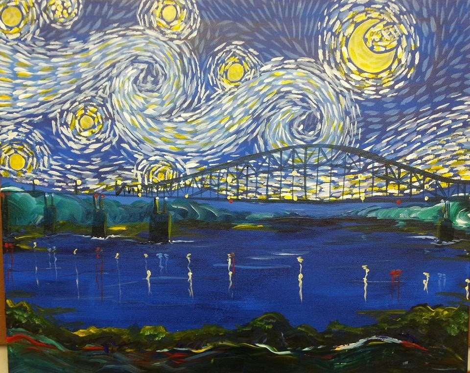 Starry Night Over the Mississippi