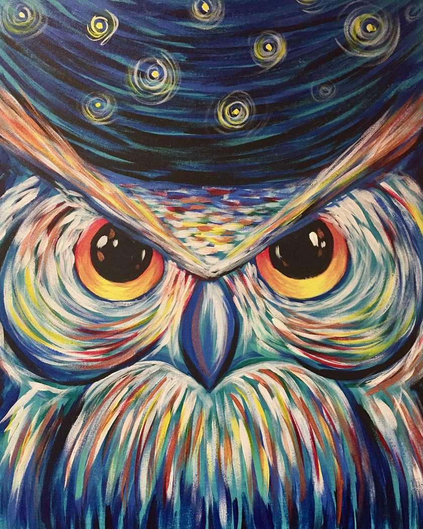 Starry Night Owl