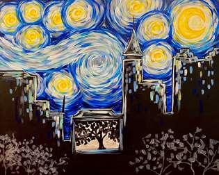 Starry Night Raleigh