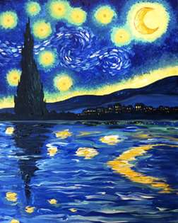 Starry Night: Reflections Edition