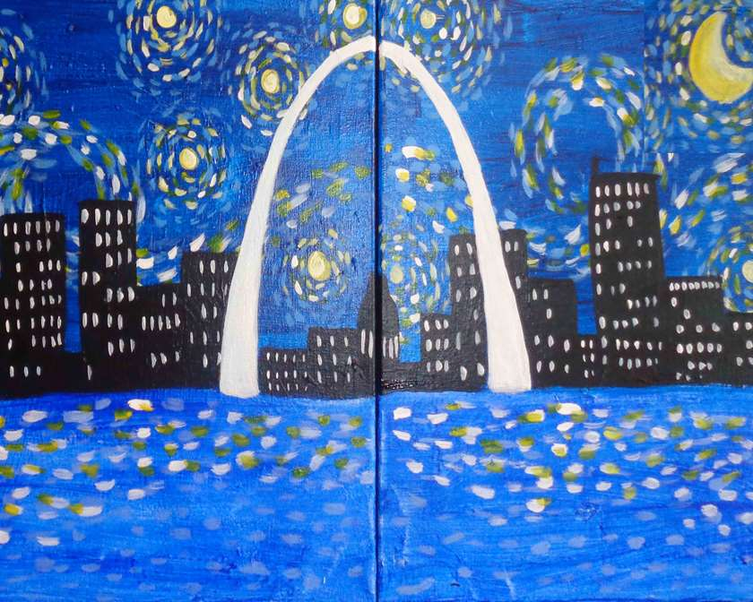 Starry Night St. Louis Date Night - In Studio Event - Limited Seating Available