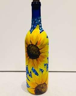 Starry Night Sunflowers