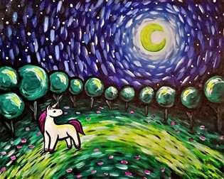 Starry Night Unicorn