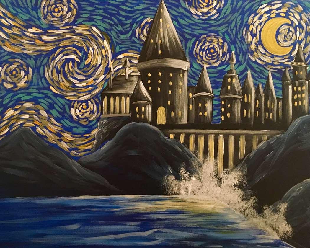 IN-STUDIO EVENT- HP's Birthday. Starry Night Wizard's Castle