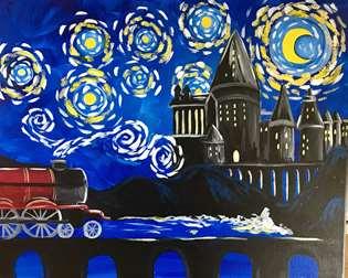Starry Night Wizzard's Express