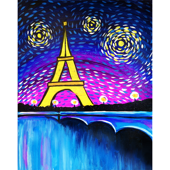 IN STUDIO CLASS: STARRY PARIS NIGHT - LIMITED SEATING