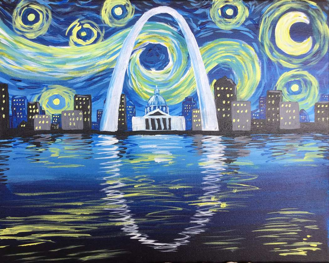Starry St Louis Reflections - In Studio Event - Limited Seating Available