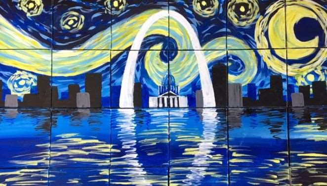 Starry St Louis Reflections