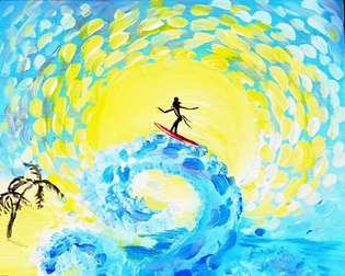 Starry Surfing Summer!