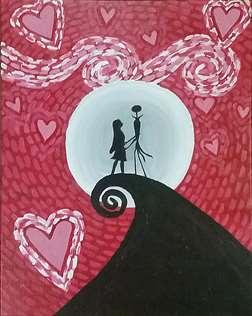 Starry Valentine Kiss