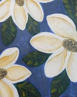 Steel Blue Magnolias