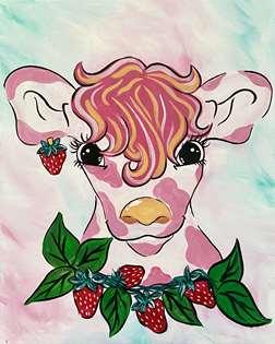 Strawberry Cow