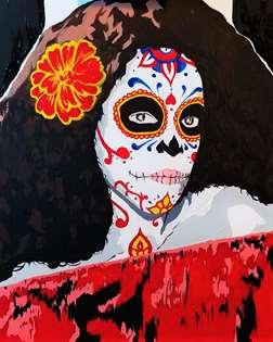 Sugar Skull Portrait