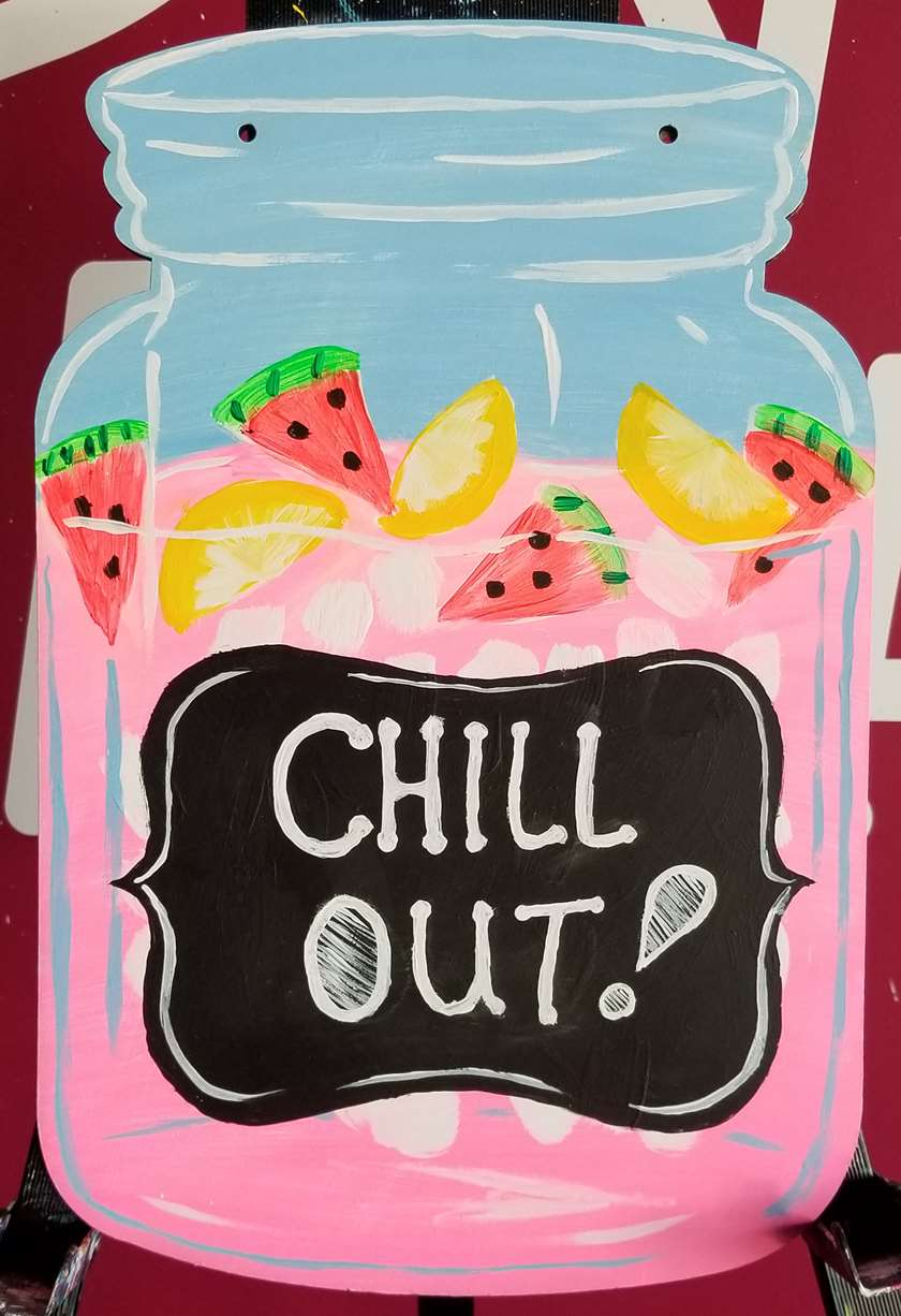 Summer Chill Door Hanger