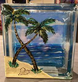 Summer Dreams - Glass Block