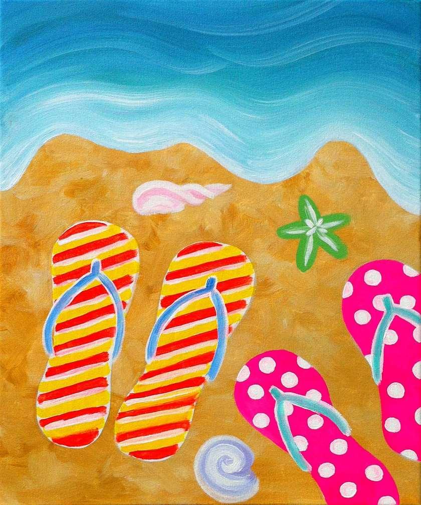 bd30ecaaf798 Summer Flip Flops - Sun
