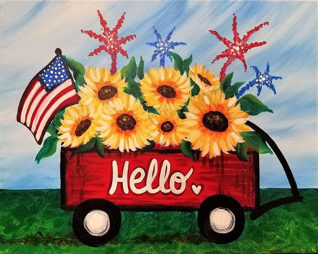 Summer Harvest Wagon