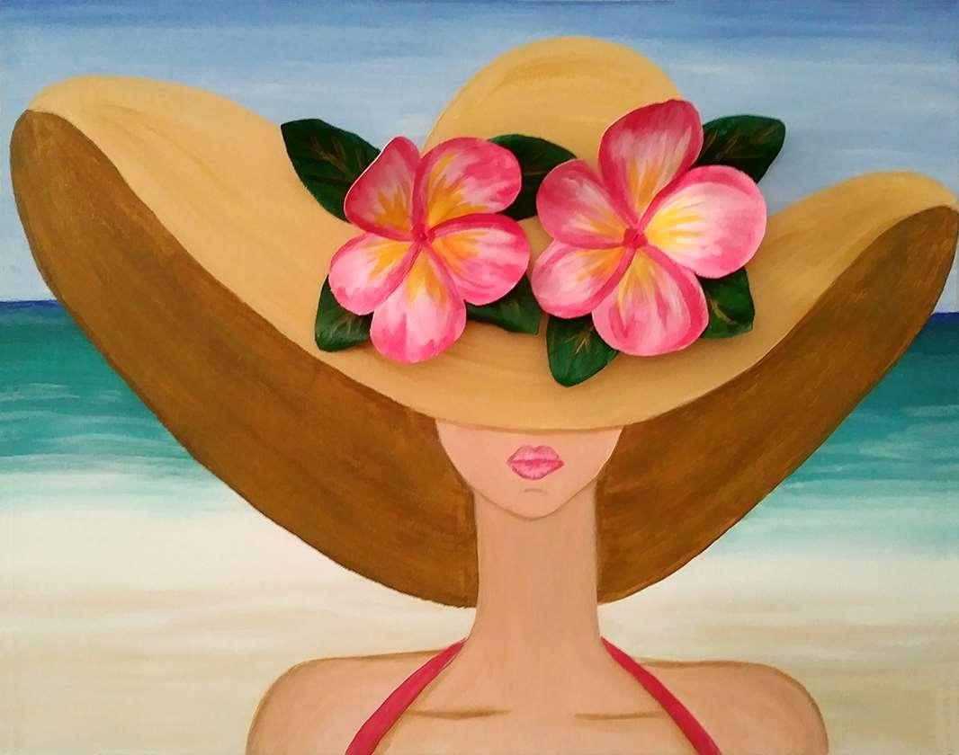Summer Hat 3-D