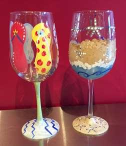 Summer Wine Glass Class
