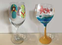 Summer Wine Glasses