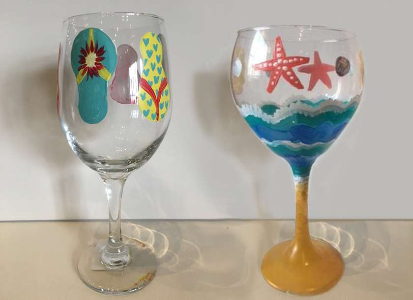 Summer Wine Glasses
