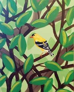 Summer's Goldfinch