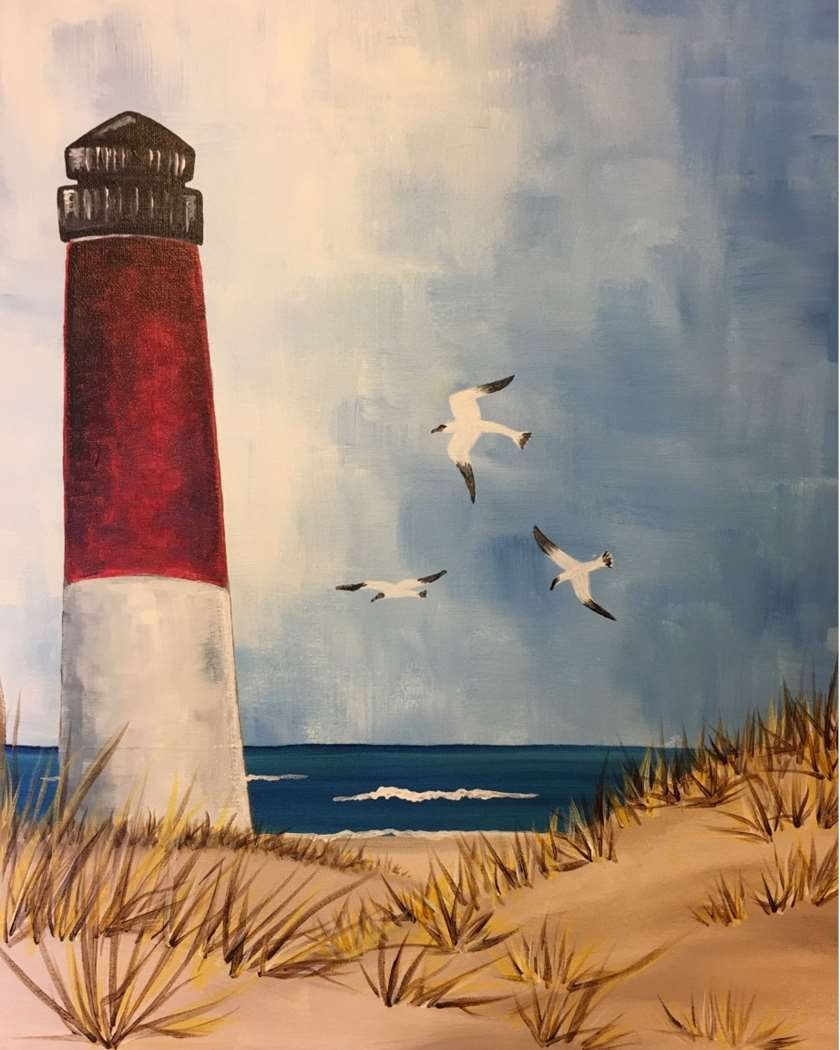 Live virtual paint class - all supplies included -recording available day after and 6 following days