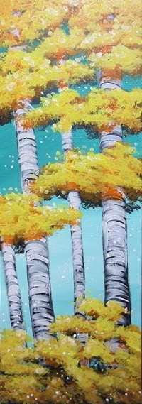 Summertime Birches