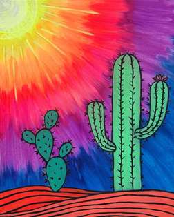 Sun Kissed Cactus