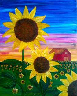Sunflower Field of Dreams