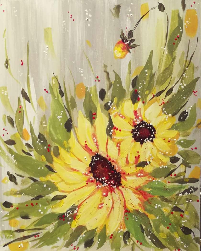 Sunflower Showers - 1/2 Price Mimosas