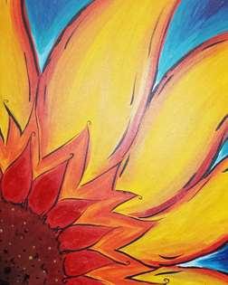 Sunflower Starburst