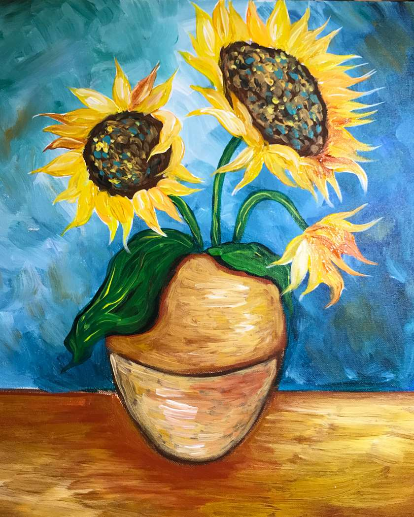 Sunflowers from Vincent
