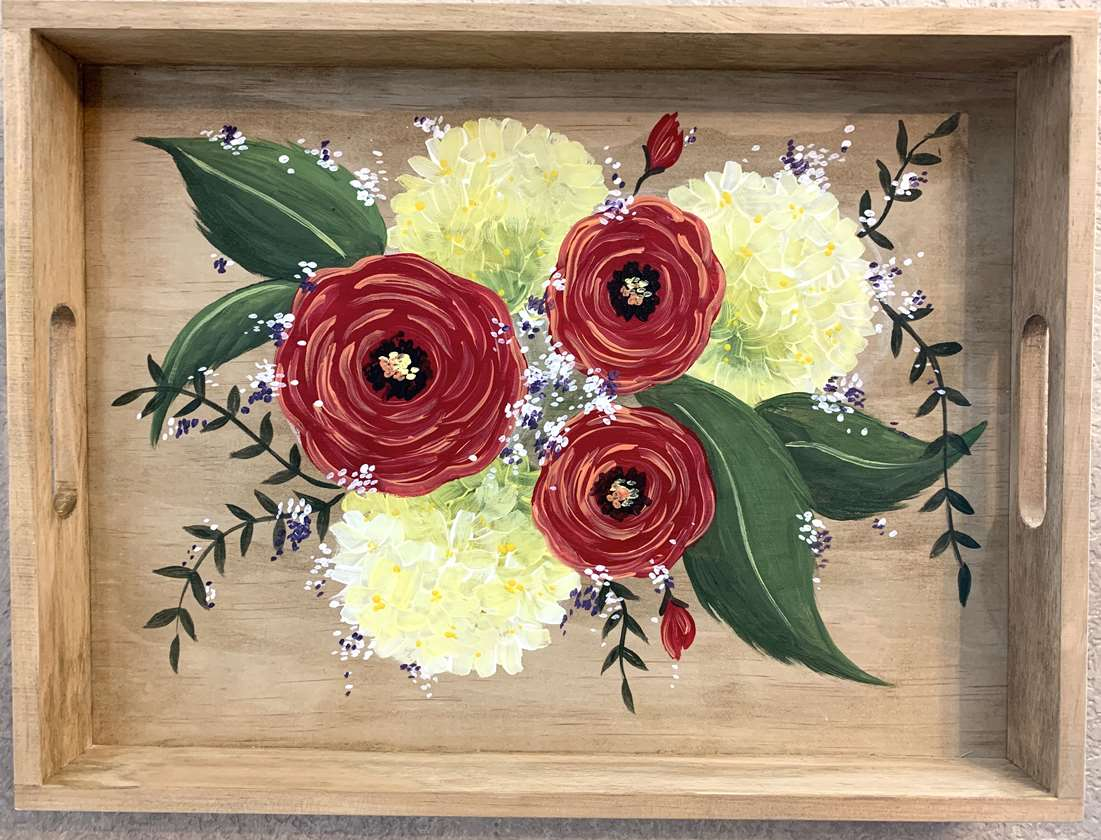 Wooden Serving Tray!