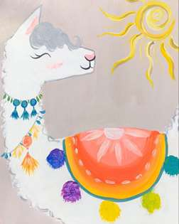 Sunny the Llama