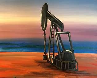 Sunrise Oil Rig