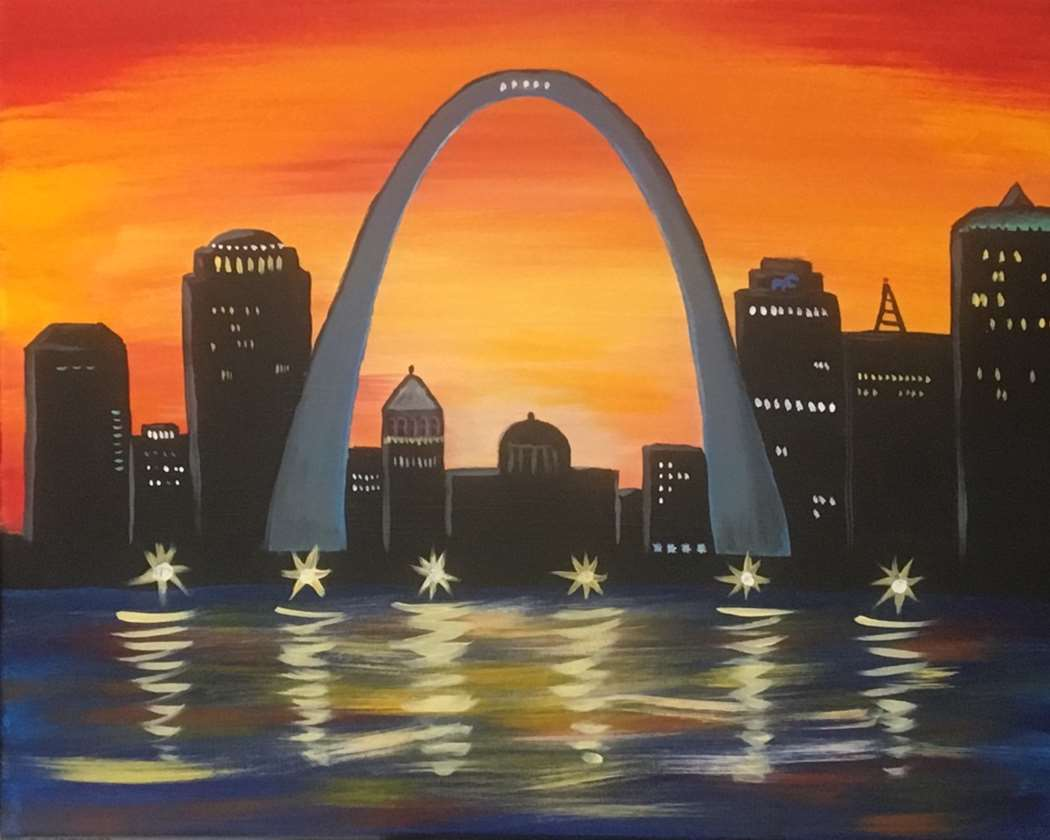 Sunset Arch - In Studio Event - Limited Seating Available