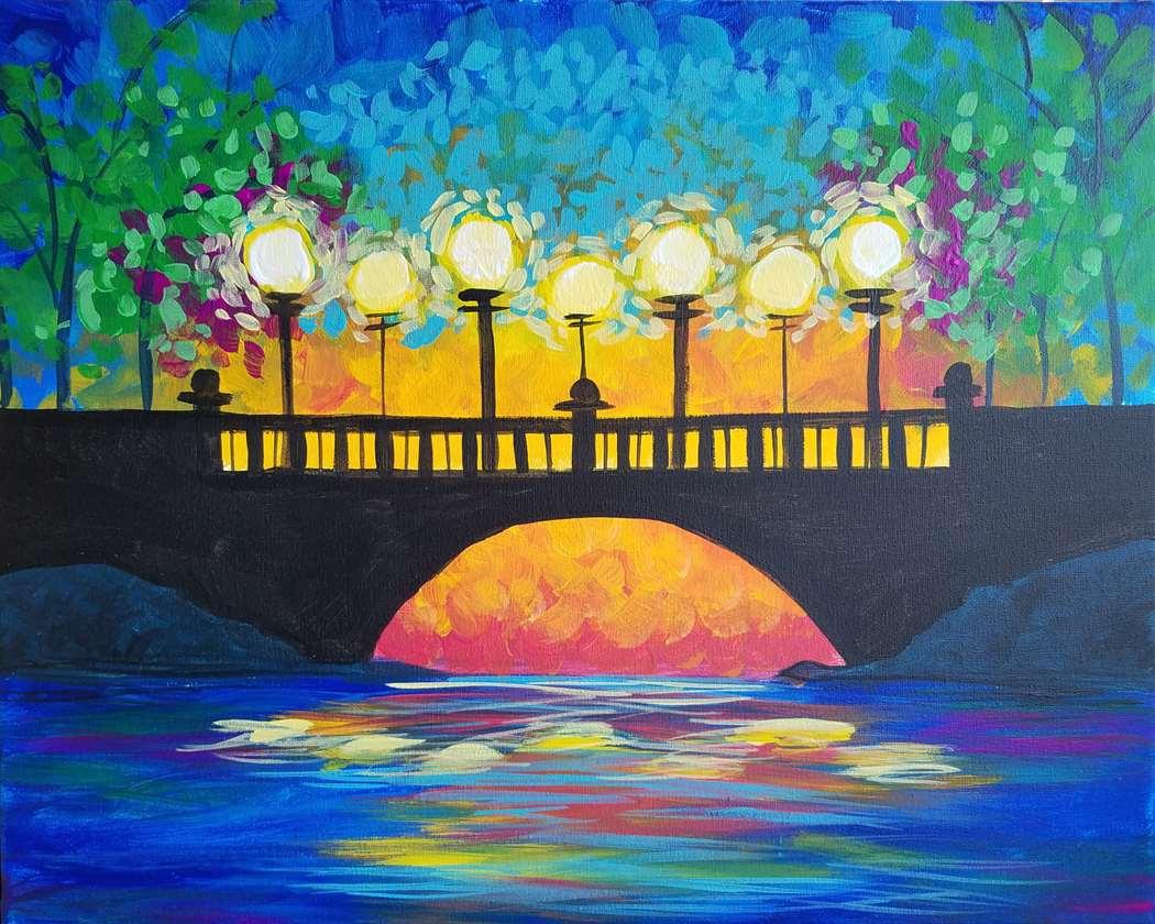 """""""sunset Bridge"""" In studio Event."""