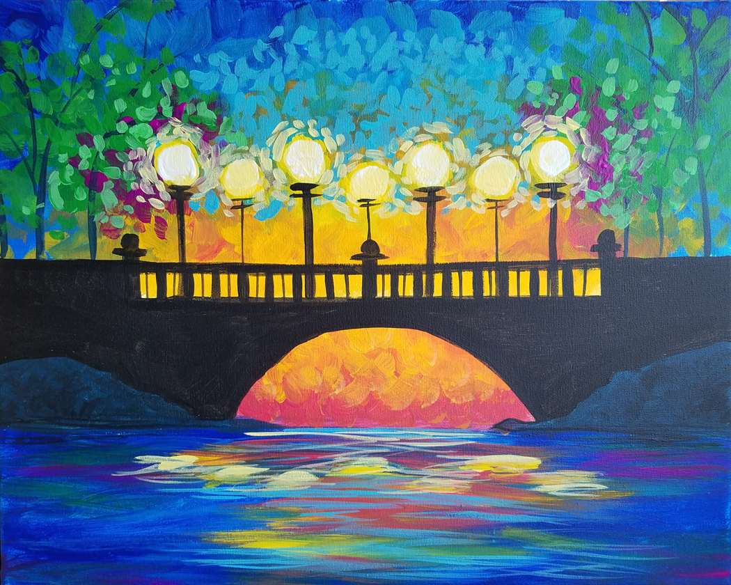 Sunset Bridge - In Studio Event - Limited Seating Available
