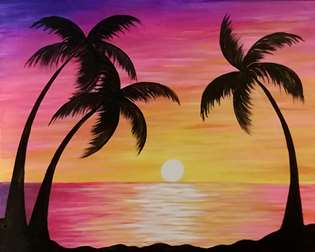 Sunset in the Tropics