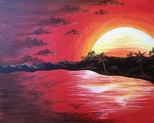 Sunset of Fire