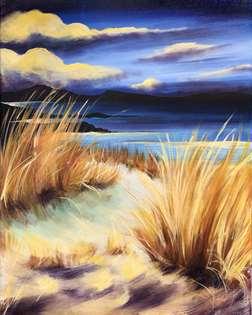 Sunset on the Dunes