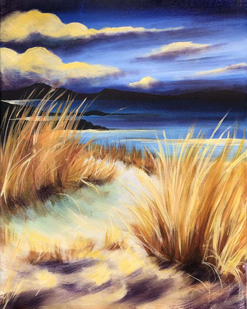 Sunset on the Dunes- In Studio Event - Limited Seating Available
