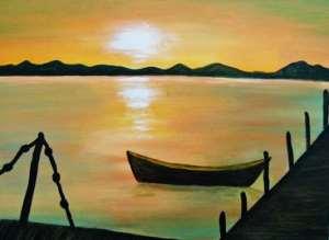 Sunset on the Wharf