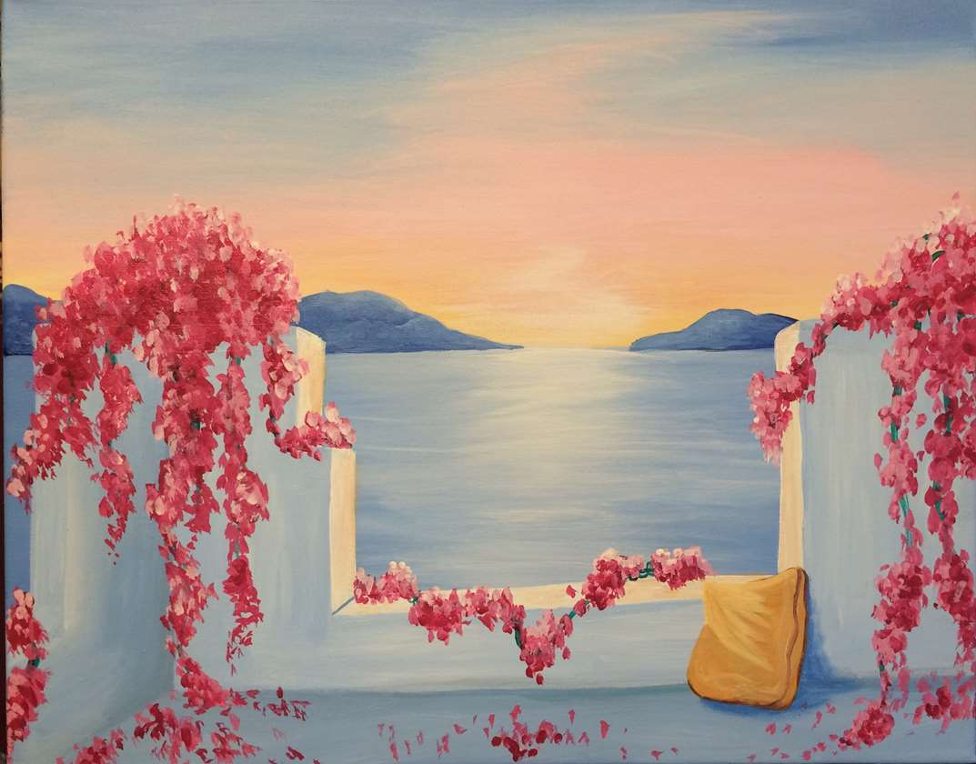 IN STUDIO CLASS: SUNSET SANCTUARY - LIMITED SEATING